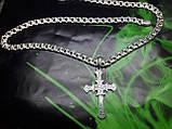 Ажурний срібний хрест, фото 2