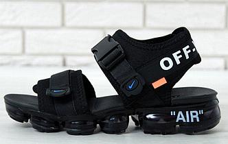 Сандали мужские Off white x Nike Air VaporMax Sandals, Сандали Найк Вапор Макс