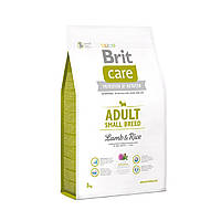 Сухой корм для собак мелких пород Brit Care Adult Small Breed Lamb & Rice 3 кг