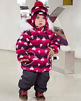 Зимний костюм для девочки Lenne ELSA 18318А-3810. Размер 92.