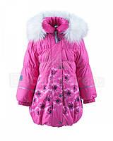 Зимнее пальто для девочки Lenne ESTELLE 18334-2619. Размер 128.