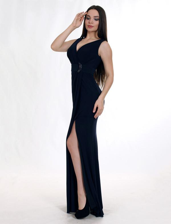 Платье женское синее вечернее ENIGMA MKENG 3006