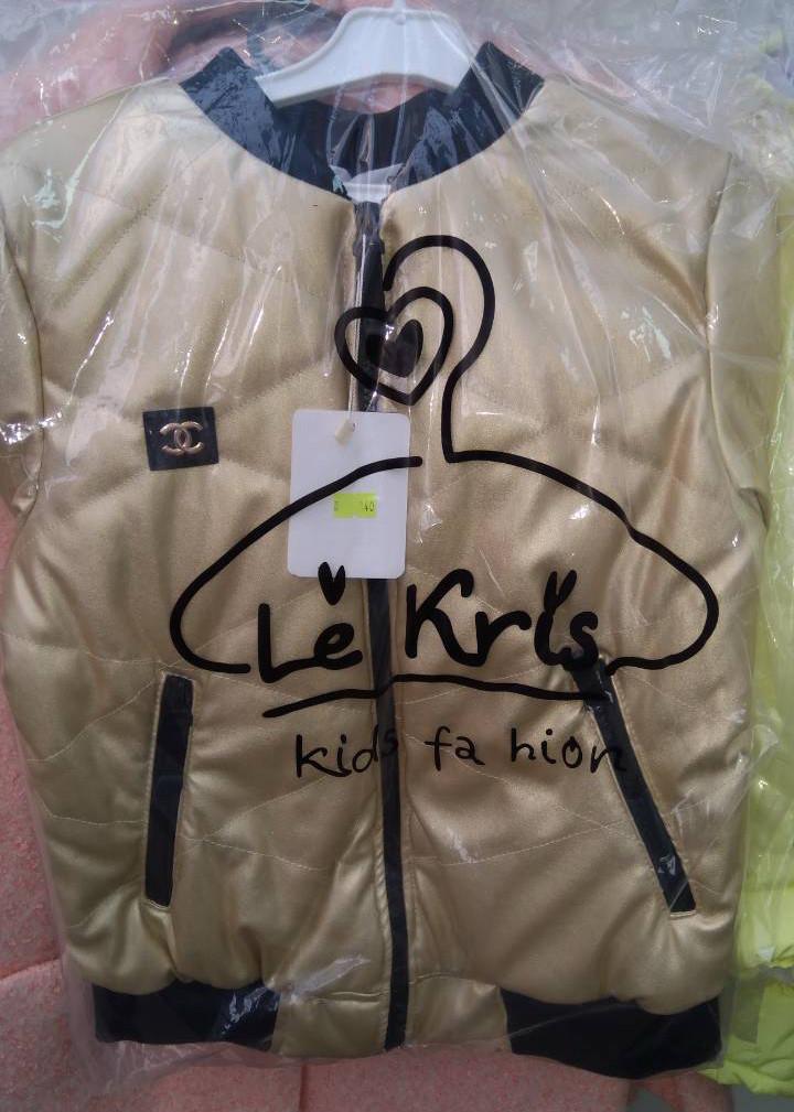 Красивая модная демисезонная подростковая курточка на девочку р.140-158