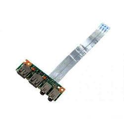 Плата USB/Audio разъёмов ASUS K53E