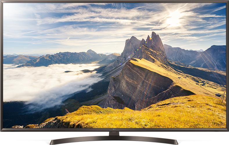 Телевизор LG 43UK6450 (TM 100Гц, 4K, Smart TV, IPS Panel, Quad Core, HDR10 PRO, HLG, Ultra Surround 2.0 20Вт)