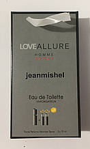 Набор мини парфюма jeanmishelLove Allure Sport Pour Homme 45ml опт