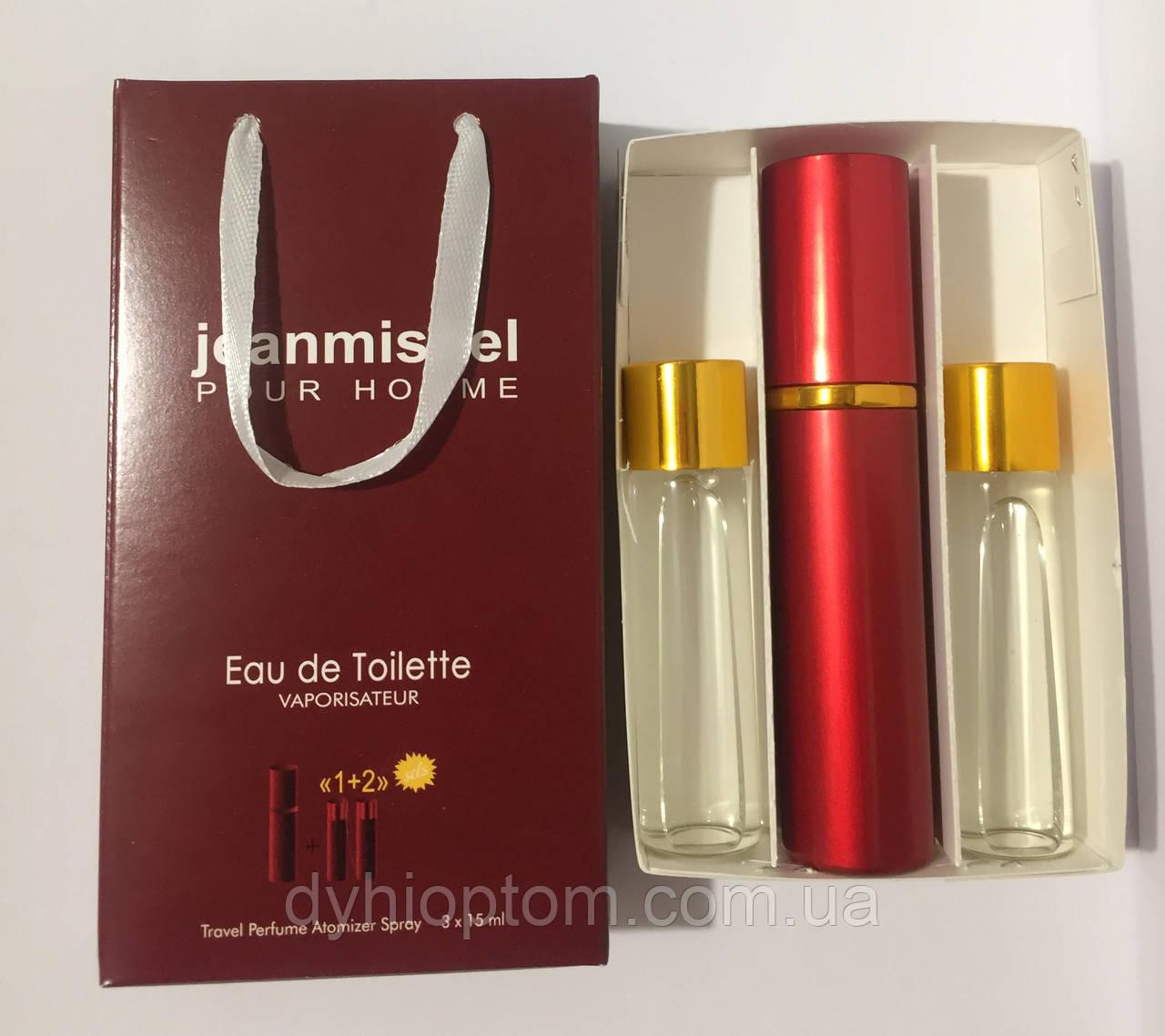 Набор мини духов jeanmishel Love Pour Homme men 3*15ml опт