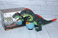 Динозавр, свет, звук, ходит, в коробке 33*11,5*19 см.