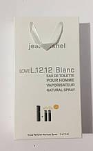 Мужские мини духи jeanmishel Lovе L.12.12 Blanc 3*15ml опт
