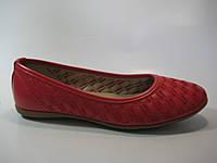 Женские балетки красного цвета ТМ Inblu, фото 1