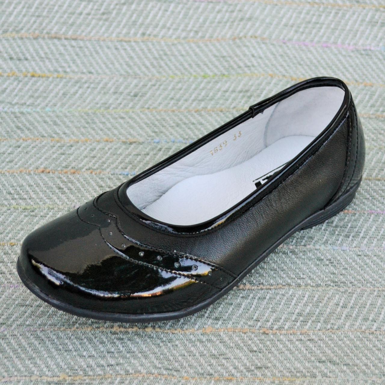 Детские школьные туфли, PDP размер 32-37