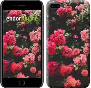 Чехол на iPhone 7 Plus Куст с розами