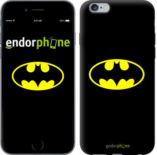 Чехол на iPhone 6s Plus Бетмен логотип