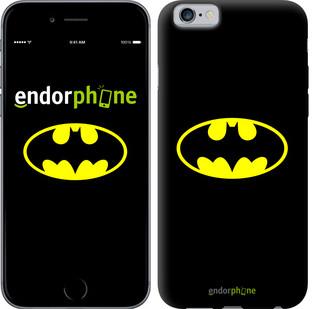 Чехол на iPhone 6 Бетмен логотип