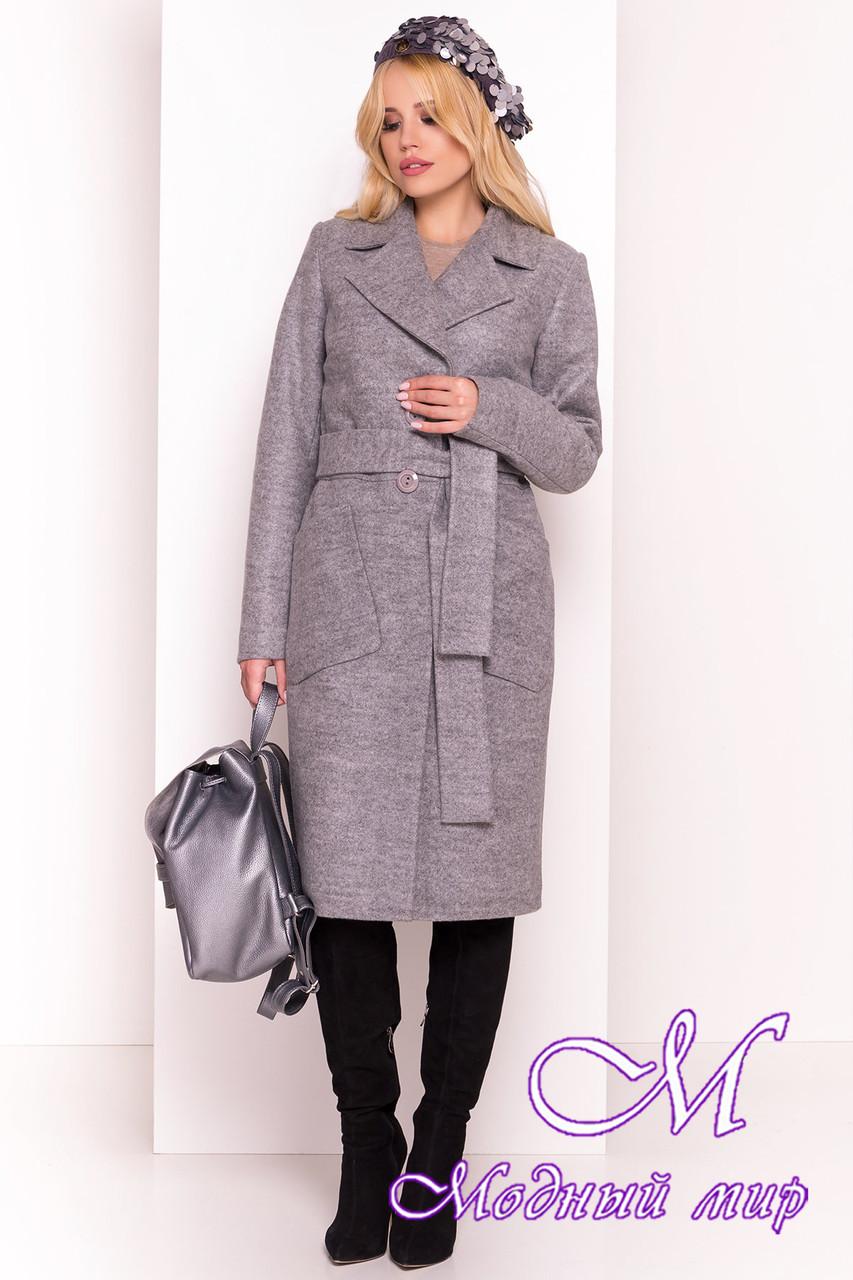 """Весеннее кашемировое пальто классика (р. S, M, L) арт. """"Габриэлла 4459"""" - 21341"""