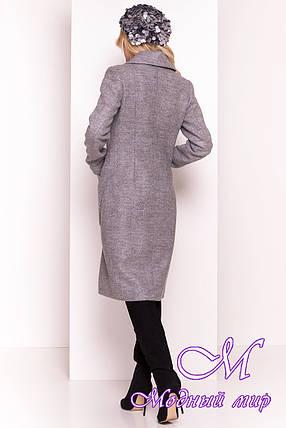"""Весеннее кашемировое пальто классика (р. S, M, L) арт. """"Габриэлла 4459"""" - 21341, фото 2"""