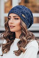 Шапка женская Айси, (6 цв), шапки оптом, в розницу, шапки от производителя, дропшиппинг, фото 1