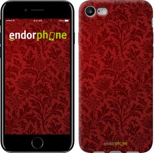 Чехол на iPhone 7 Чехол цвета бордо