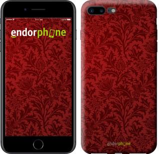 Чехол на iPhone 7 Plus Чехол цвета бордо