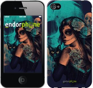 Чехол на iPhone 4 Fantasy girl