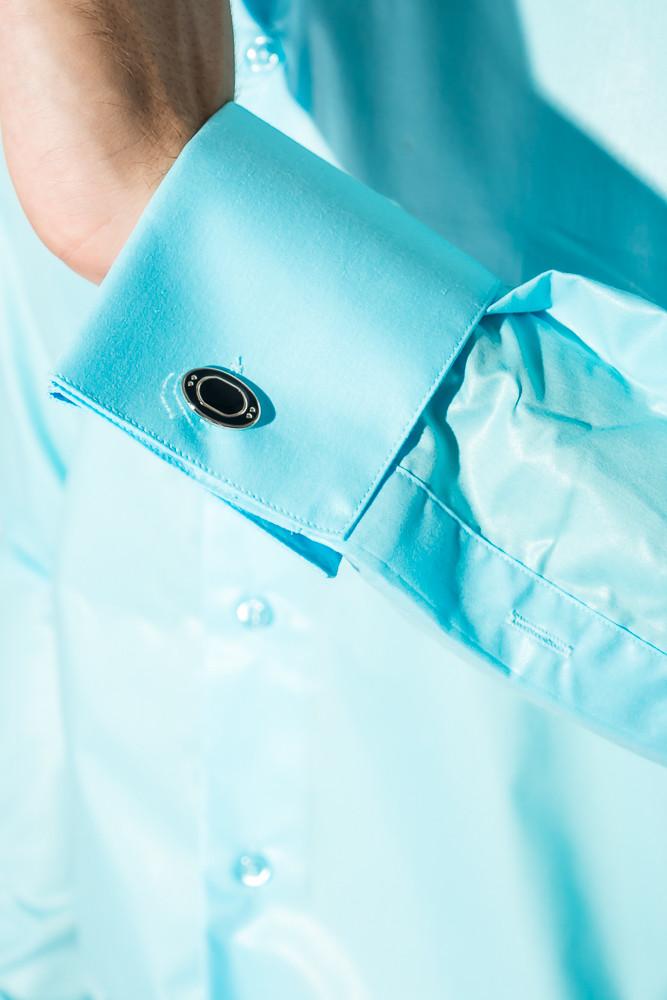 fdfa27ff7e1 Рубашка Мужская C Запонками 50PD0020 (Морская Волна) — в Категории ...