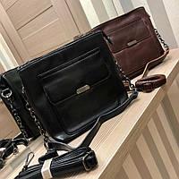 Классная и удобная, женская сумка из экокожи отличного качества (25см*22см) РАЗНЫЕ ЦВЕТА
