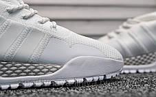 Кроссовки мужские белые Adidas AF 1.4 Primeknit White (реплика) , фото 2