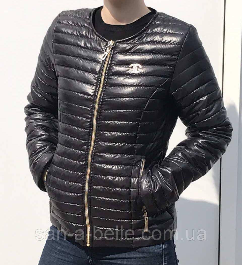 Куртка женская Шанель, размеры 42-62 черный, размеры 42 - 62