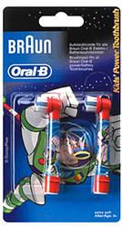 Сменные насадки для зубной щетки Braun Oral-B EB10 (2 шт ) детские