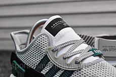 Кроссовки мужские зеленые Adidas Equipment White Green (реплика), фото 3
