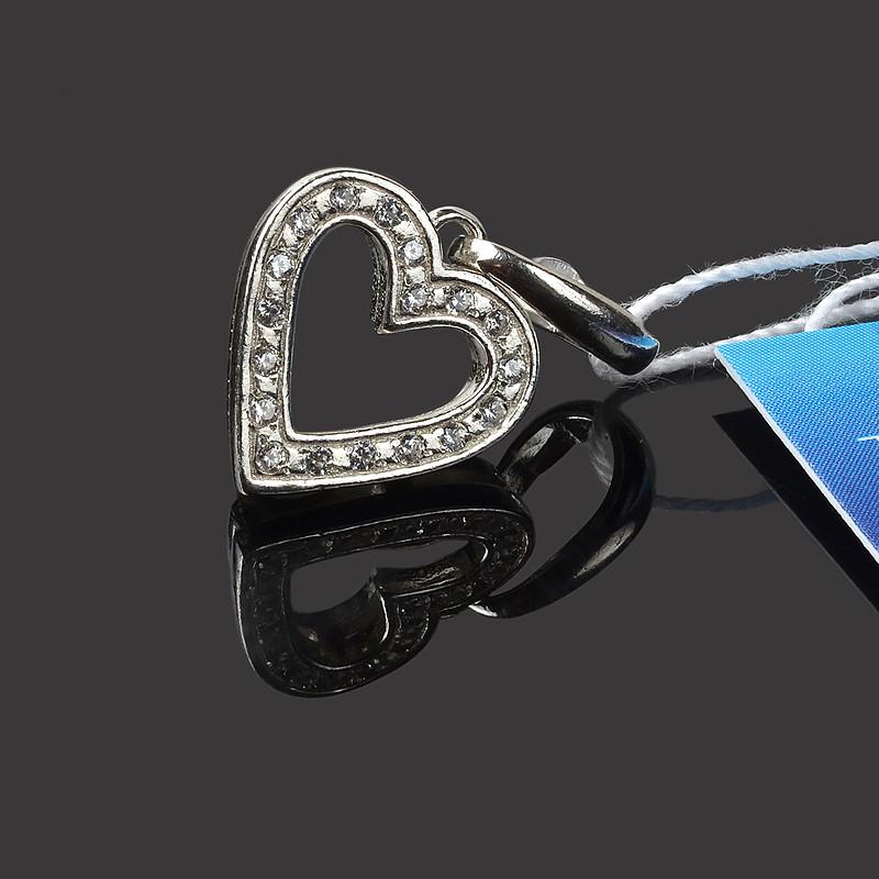 Серебряная подвеска (кулон) Сердечко