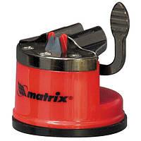 Приспособление для затачивания  ножей любого типа  метал. направляющая крепление на присоске MTX 791049