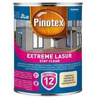Самоочищающееся лазурное деревозащитное средство Pinotex Extreme Lasur (Тик) 1 л, фото 1