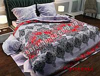 """Комплект постельного белья Полуторный бязь """"Gold"""" №474АВ"""