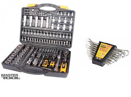 КОМПЛЕКТ! Набор инструментов 111 ед. + набор гаечных ключей 8ед 6-19 мм