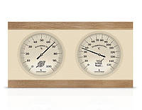 Термометр/гигрометр ТГС-4 деревянный для бани и сауны