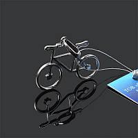 Серебряная подвеска Велосипед