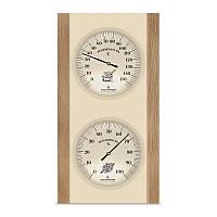 Термометр/гигрометр ТГС-5 деревянный для бани и сауны