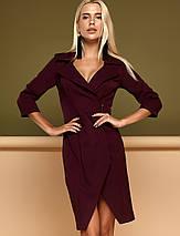 Женское платье в стиле псевдо запах (Эсмиjd), фото 3