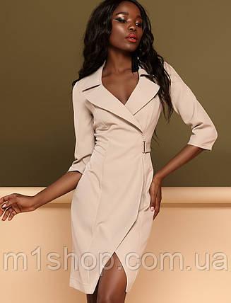 Женское платье в стиле псевдо запах (Эсмиjd), фото 2