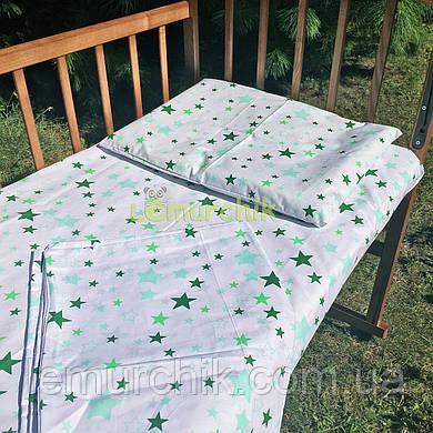 Постельный набор в детскую кроватку (3 предмета) Звездочка 1