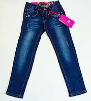 Стильные джинсы  для девочки 8 лет, фото 1