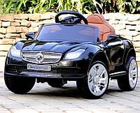 Детский электромобиль Мерседес Mercedes M 3177EBLR-2, колеса EVA, пульт, кожаное сиденье, MP3, свет фар.