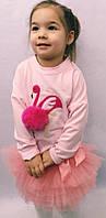 Костюмчик детский на девочку Фламинго Новинка