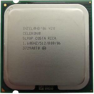 Процессор Intel Celeron D 420 1,6 GHZ/512/800