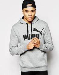 Худи Puma, большой логотип