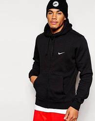 Худи на змейке Nike, маленький логотип