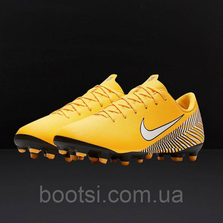5d2341dbb146 Детские футбольные бутсы Nike Mercurial VaporX 12 Academy GS CR7 FG ...