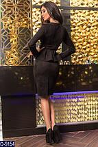 Черный замшевый костюм, фото 2