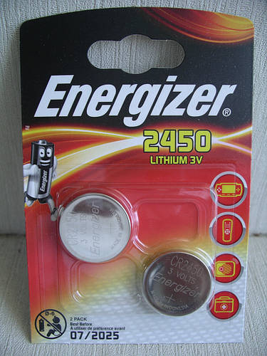 Батарейка Energizer CR2450 3V , цена за одну батарейку